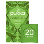 Pukka Three Mint Tea 20 per pack