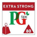 PG Tips The Extra Strong One 80s Pyramid Teabags 232g