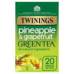 Twinings Pineapple & Grapefruit Green Tea 20 per pack