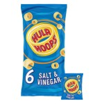 Hula Hoops Salt & Vinegar 6 x 24g