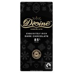 Divine Fairtrade Dark Chocolate 85% Cocoa 90g
