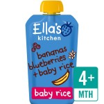 Ella's Kitchen Blueberries, Bananas & Baby Rice Stage 1 120g