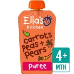 Ella's Kitchen Stage 1 Carrots, Peas & Pears 120g