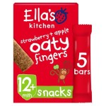 Ella's Kitchen Organic Strawberry & Apples Nibbly Fingers 5 x 25g