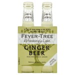Fever-Tree Refreshingly Light Ginger Beer 4 x 200ml
