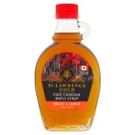 St Lawrence Gold Pure Canadian Maple Syrup Grade A Amber 250ml