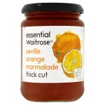 Waitrose Essential  Seville Orange Thick Cut Marmalade 454g