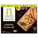 Nairns Gluten Free Flatbreads Rosemary & Sea Salt 150g