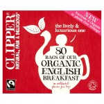 Clipper Organic Fairtrade English Breakfast Tea 80 per pack