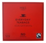 Marks & Spencer Everyday Tea 80 Teabags