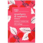 Marks & Spencer Strawberry & Raspberry Infusion 20 Teabags