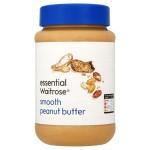 Smooth Peanut Butter essential Waitrose 454g