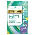 Twinings Mints Selection 20 envelopes per pack