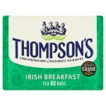 Thompson's Irish Breakfast 80 Tea Bags