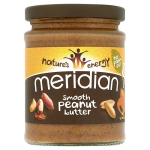 Meridian Natural Peanut Butter Smooth No Salt 280g