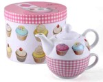 Iced Fancies Tea for One Cup & Teapot Set
