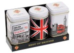 New English Teas Best of British Mini Tin Triple Pack Loose Tea 70g