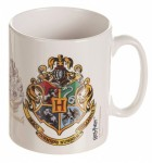 Harry Potter Hogwarts Crest Ceramic Mug - White