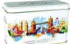 English Breakfast Tea in a Caddy - London Skyline 20 Foiled Tea Bags