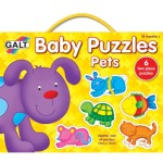 Galt Set of 6 New Baby Puzzles - Pets