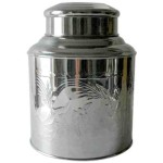 Traditional Chinease Large Tea Canister - Caddy