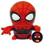 BulbBotz Marvel Spider-Man Night Light with Alarm Clock