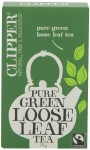 Clipper Fairtrade Organic Green Loose Leaf Tea 100g