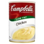Campbell's Low Fat Chicken Condensed Soup 295g