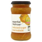 Reduced Sugar Orange Marmalade Waitrose 340g