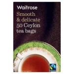 Ceylon Tea Bags Waitrose 50 per pack