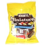 Hershey's Chocolate Miniatures 150g