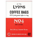 Lyons No4 Dark & Intense Ground Coffee Bags 18 per pack