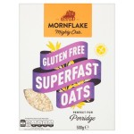 Mornflake Gluten Free Superfast Porridge Oats 500g