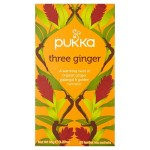 Pukka Organic Three Ginger Tea Bags 20 per pack