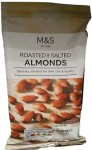 Marks & Spencer Roasted & Salted Almonds 150g