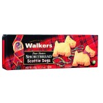 Walkers Scottie Dog Shaped Shortbread 110g