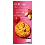 Cherry & Almond Cookies Waitrose 200g