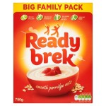 Ready Brek Original Smooth Porridge Oats 750g