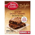 Betty Crocker Delights Gooey Salted Caramel Brownie Mix 430g
