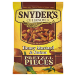 Snyder's Honey Mustard Onion Pretzel Pieces 125g