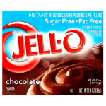Jell-O Sugar Free Fat Free Instant Chocolate 40g