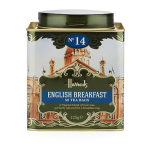 Harrods Heritage No. 14 English Breakfast Tin 50 Tea Bags