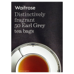 Waitrose Distingtively Fragrant 50 Earl Grey Tea Bags