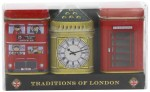 New English Teas Traditions of London Mini Tin Triple Pack Loose Tea 65g