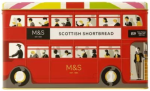 Marks & Spencer Scottish Shortbread Selection in a London Bus Tin 500g