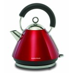Morphy Richards Accents 43772 Pyramid Kettle, Red