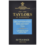 Taylors of Harrogate Decaffeinated Breakfast Tea - 50 Tea Bags