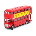 London Red Double Decker Bus Model