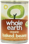 Organic Whole Earth Baked Beans 400g