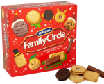 Mcvitie's Family Circle 10 biscuits varieties 670g